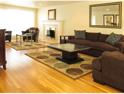 view of formal living area