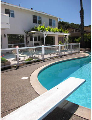 Swimming Pool and Patio- Alternate View