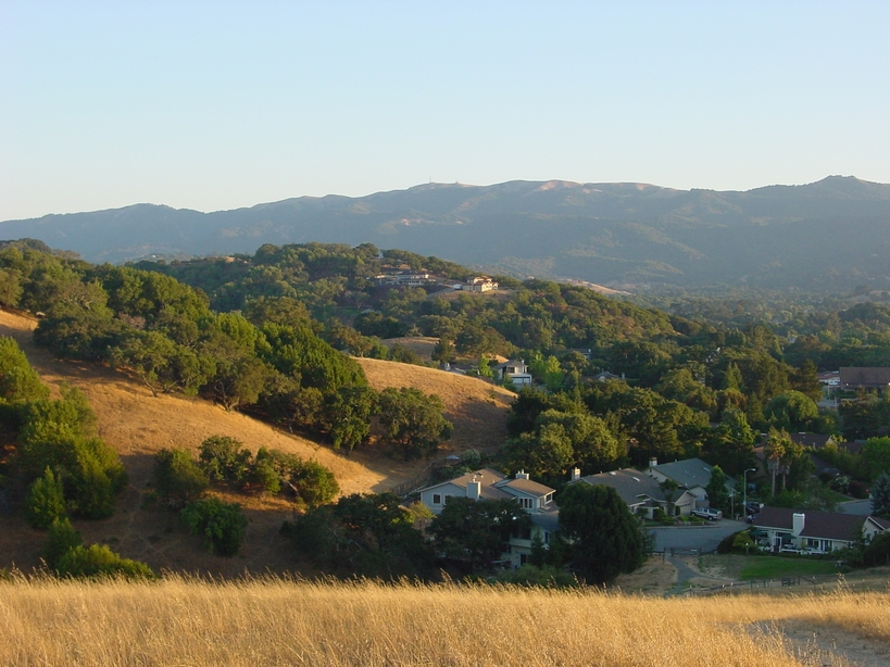 A Classic View of Novato, CA in Summer